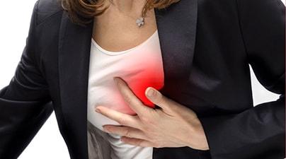 боли в грудной клетке причины