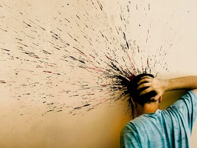 абстракция боли затылка головы