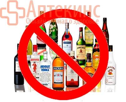 Алкоголь при мастопатии