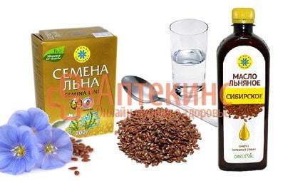 Семя льна и льняное масло при мастопатии